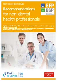 Recommendations for non-dental health professionals
