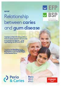 Relationship between caries and gum disease